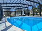 Heated and Covered Swimming Pool