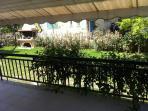 Balcony- Garden view-BBQ