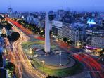 9 de Julio Avenue- Obelisk of Buenos Aires