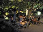 Table d'hôtes avec cuisine provencal.