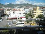 Mountain view from the balcony (apartment is located at the back of the building)