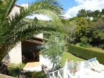 Villa exterior and shaded terrace - perfect for long lazy lunches......