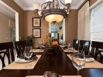Separate Dining room for all the family to sit together