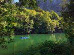 Entorno/Localidad Embalse de Valdemúrrio paseos en canoa
