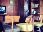Living room in Thai Villa style