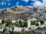 Historical roman old town, Stari Bar (10 min drive, close to port of Bar)
