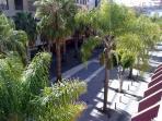 Balcón: ésta es la vista desde el balcón.