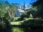 Shanklin Old Church and pond - 5mins walk away.