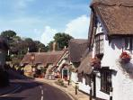 Shanklin Old Thatched Village.