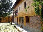 Casa Zollo, courtyard (Casa Vale, Sibiu, Transylvania, Romania)