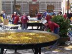 Giant paella festival - Teulada in April