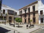 Ayamonte old town centre