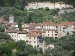 Fibbiano, the village