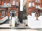 Traditional London Neighborhood