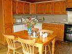 Ashwood Lodge's well equiped kitchen