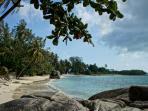 Laem Set beach a 5 minute drive from the villa