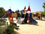The Pirates Village play area at the resort