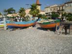 The beach at Cros de Cagnes