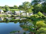 Roch Mill and Granary holiday cottage are set in beautiful gardens