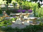 terrazzo nel giardino