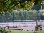 Anyone for Tennis on the three floodlit tennis courts