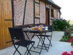 Terrasse de la maisonnette