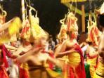 Balinese dancing girls