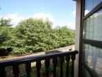 vistas desde balconera apartamento D
