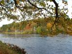 Autumn on the Spey