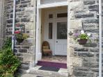 beautiful stone build property with original tiled vestibule