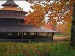 One of the best times of the year to visit the yurts is September through November.