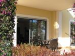 Terrace Area & Private Garden