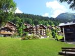 Le Yeti 1-6, a lovely part of Chatel, an easy 3' bus ride into town but peaceful, and easy park