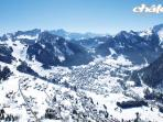 Chatel, a glorious ski resort, part of the Portes du Soleil, the largest ski domaine in the world