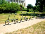 FREE BICYCLES are available for each of my guests that CAN BE USED ON SAFE BICYCLE ROUTES NEARBY