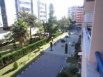Jardín privado del residencial del apartamento