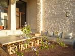 Large garden lounge