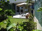 Terraza con jardin