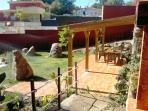 Jardín y patio del Apartamento