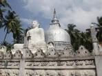 Buddhist monastery in nearby city of Galle