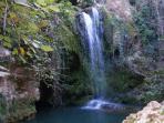 cascadas de Hueznar