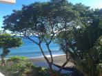 La vue imprenable sur l'océan depuis la cuisine
