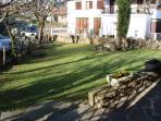 Casa Rural Gurutze - Jardín