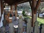 Casa Rural Gurutze - Entrada pórtico