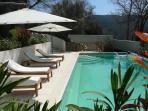 Swimmingpool from the Terrace