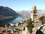 Amazing unesco old town of Kotor at the end of a fjord (1 hr by car /bus)