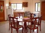 combined kitchen & dining