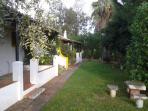 Casa 9 e jardim