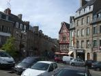 Guingamp - typical old Breton town - our nearest city 20 minutes away