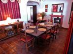 Cosy Dining Room. Ample space for Six or More.